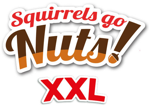 Squirrels go Nuts! XXL