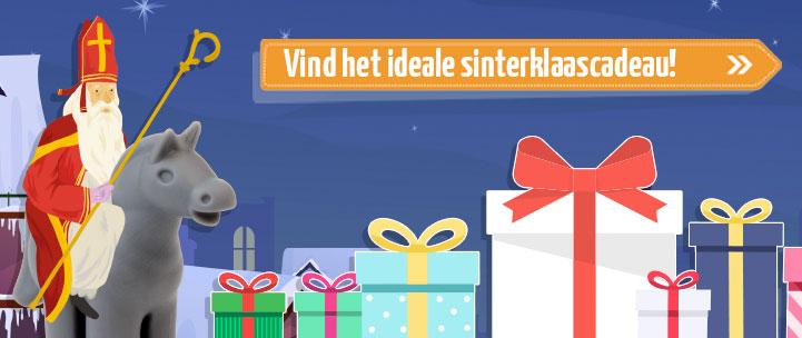 Vind het ideale Sinterklaas cadeau