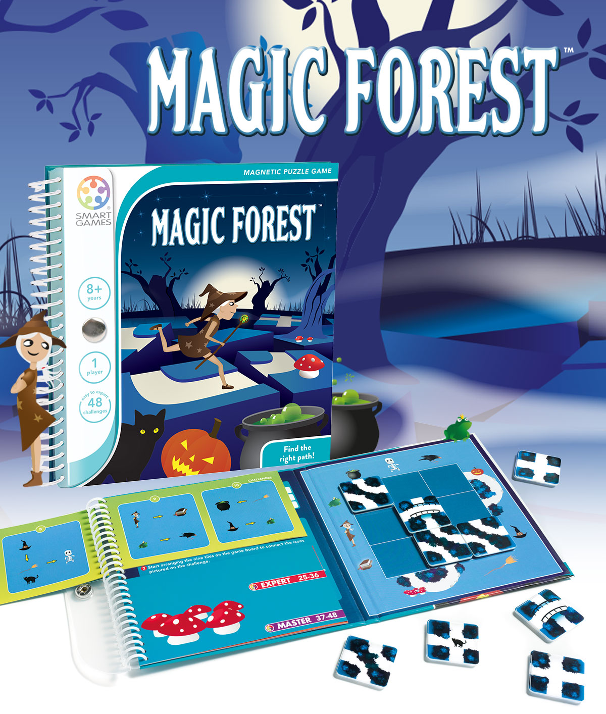 Magic Forest Smartgames Circuit Boards Like Appears