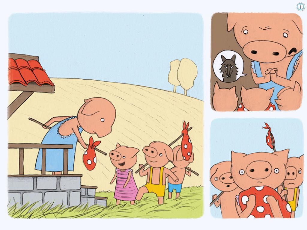 Die 3 kleinen Schweinchen eBook