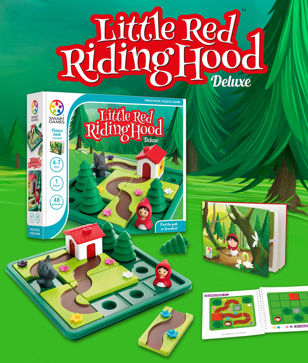 Little Red Riding Hood Deluxe Smartgames