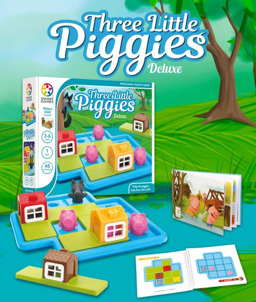 Play Three Little Piggies Deluxe